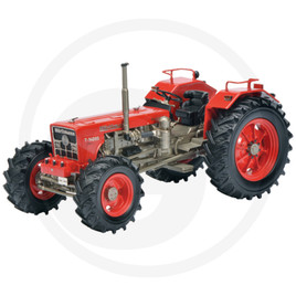 Schuco Tractor, red, limited edition, resin